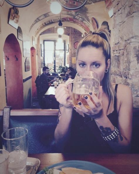 Czech beer-Prague