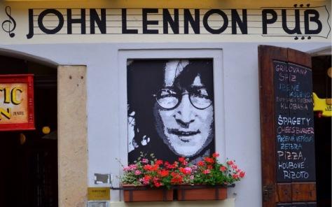 John Lennon Pub-Prague