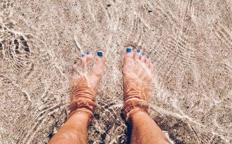 Ocean-feet